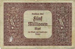 5 Millions Mark ALLEMAGNE  1923  pr.TB