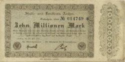 10 Millions Mark ALLEMAGNE Aachen - Aix-La-Chapelle 1923  TTB