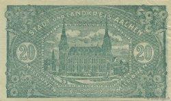 20 Millions Mark ALLEMAGNE Aachen - Aix-La-Chapelle 1923  TTB