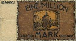 1 Million Mark ALLEMAGNE Aachen - Aix-La-Chapelle 1923  TTB