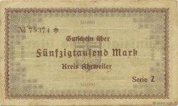 50000 Mark ALLEMAGNE Ahrweiler 1923  TTB