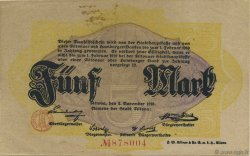 5 Mark ALLEMAGNE Altona 1918  TTB
