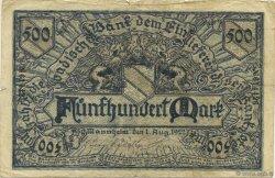 500 Mark ALLEMAGNE Mannheim 1922 PS.0908 TB