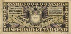 500000 Mark ALLEMAGNE  1923 PS.0911 TTB+