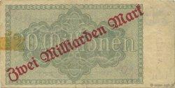 2 Milliards Mark ALLEMAGNE  1923 PS.0913 TTB
