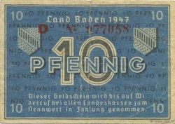 10 Pfennig ALLEMAGNE  1947 PS.1002 pr.TTB