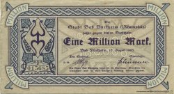 1 Million Mark ALLEMAGNE Bad Dürkheim 1923  TTB+