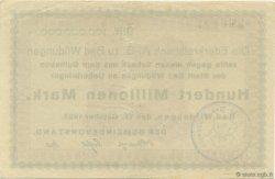 100 Millions Mark ALLEMAGNE Bad Wildungen 1923  SUP