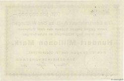 100 Millions Mark ALLEMAGNE  1923  pr.NEUF