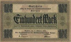 100 Mark ALLEMAGNE Bautzen 1922  TTB