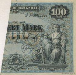 100 Mark ALLEMAGNE  1900 PS.0922 TTB+