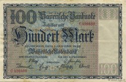 100 Mark ALLEMAGNE  1922 PS.0923 TTB