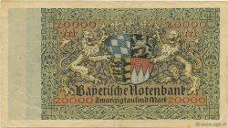 20000 Mark ALLEMAGNE  1923 PS.0926 TTB