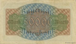 50000 Mark ALLEMAGNE  1923 PS.0927 TTB