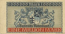 1 Million Mark ALLEMAGNE Munich 1923 PS.0929 TTB