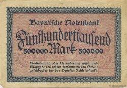 500000 Mark ALLEMAGNE Munich 1923 PS.0930 TTB