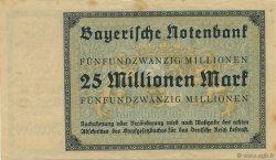 25 Millions Mark ALLEMAGNE  1923 PS.0933 TTB