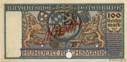 100 Reichsmark ALLEMAGNE  1924 PS.0942s SUP+