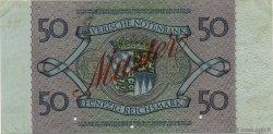 50 Reichsmark ALLEMAGNE  1925 PS.0943s TTB+