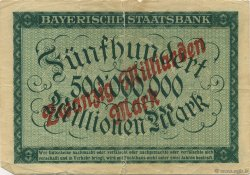 20 Milliards Mark ALLEMAGNE  1923  TB