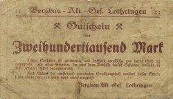 200000 Mark ALLEMAGNE Gerthe 1923  TB