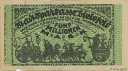 5 Millions Mark ALLEMAGNE Bielefeld 1923  TB