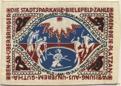25 Mark ALLEMAGNE Bielefeld 1921  SUP