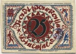 25 Mark ALLEMAGNE  1921  SUP