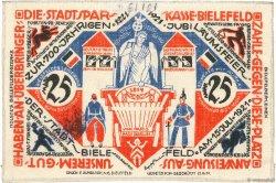 25 Mark ALLEMAGNE Bielefeld 1922  SUP