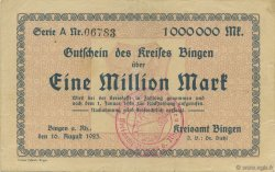 1 Million Mark ALLEMAGNE  1923  TTB+