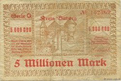 5 Millions Mark ALLEMAGNE Bitburg 1923  TB