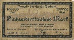 100000 Mark ALLEMAGNE  1923  pr.TB