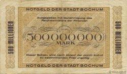 500 Millions Mark ALLEMAGNE  1923  pr.TTB