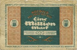 1 Million Mark ALLEMAGNE Bochum 1923  TB