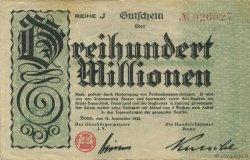 300 Millions Mark ALLEMAGNE  1923  TTB