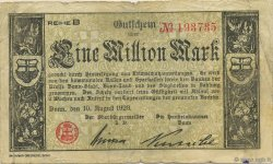 1 Million Mark ALLEMAGNE Bonn 1923  TB
