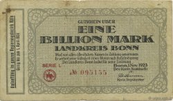1 Billion Mark ALLEMAGNE Bonn 1923  TB