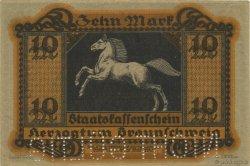 10 Mark ALLEMAGNE Braunschweig 1918  SPL