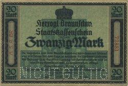 20 Mark ALLEMAGNE  1918  TTB+
