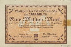 1 Million Mark ALLEMAGNE Buer 1923  TTB