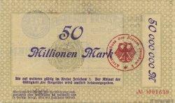 50 Millions Mark ALLEMAGNE  1923  TTB