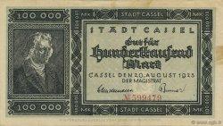 100000 Mark ALLEMAGNE Burg 1923  TTB