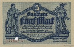 5 Mark ALLEMAGNE  1918  pr.NEUF