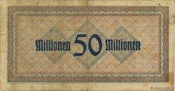 50 Millions Mark ALLEMAGNE Coblenz 1923  TB+
