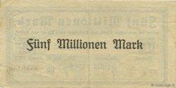 5 Millions Mark ALLEMAGNE Cochem-Simmern-Zell 1923  TTB