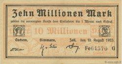 10 Millions Mark ALLEMAGNE  1923  SPL
