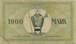 1000 Mark ALLEMAGNE  1922  TB+