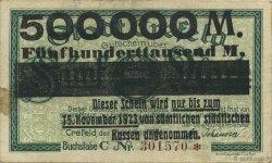500000 Mark ALLEMAGNE  1923  TTB+