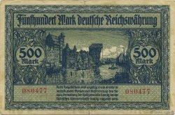 500 Mark ALLEMAGNE  1922 P.014 TB+
