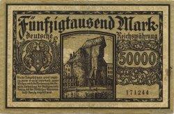 50000 Mark ALLEMAGNE  1923 P.020 TTB
